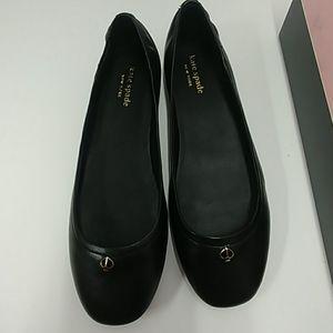 Kate Spade kora Black Nappa Leather Size 7 M